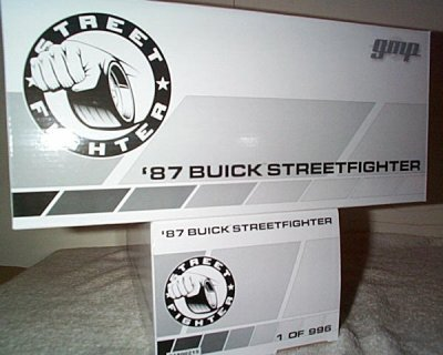 '87 Buick Street Fighter By GMP 1 Of Only 996