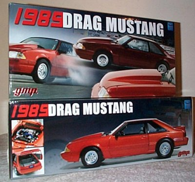 '89 Ford Mustang Drag Car Copper Or Burgundy