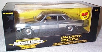 '66 Chevrolet Biscayne Chrome Chase Car