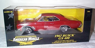 '67 Buick GS 400 In Red