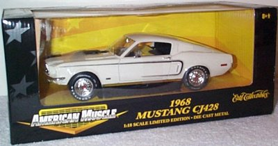 '68 Ford Mustang GT CJ 428