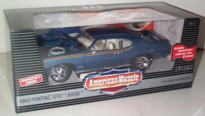 '69 Pontiac GTO Judge 10th Anniversary