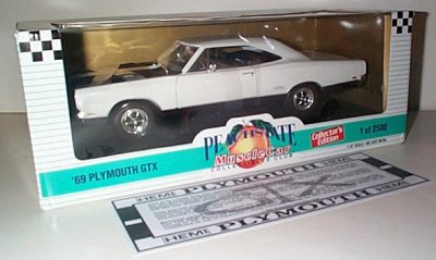 '69 Plymouth GTX Hemi