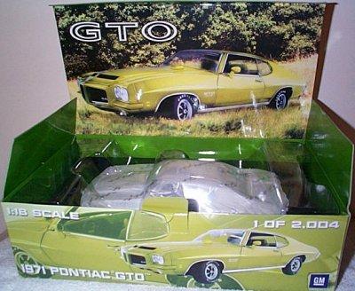 '71 Pontiac GTO 455 H.O. GMP
