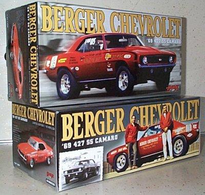 '69 Berger Chevrolet Drag Camaro