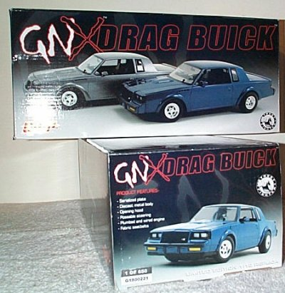 Buick GNX Street Fighter Drag Car Blue