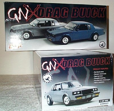Buick GNX Street Fighter Drag Car Gray