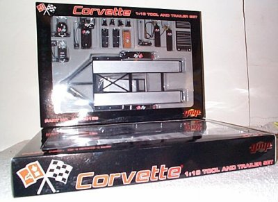 Chevy Corvette Tool & Trailer Set GMP