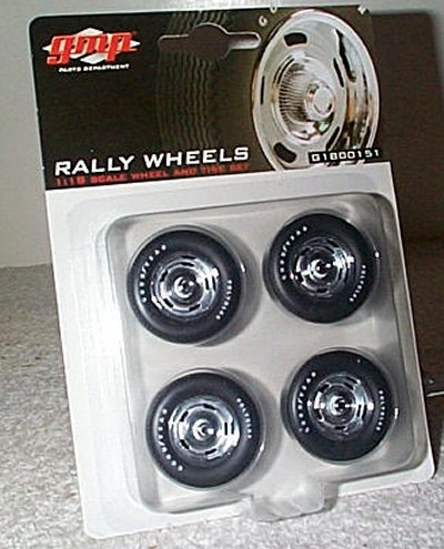 Rally Wheel & Tire Set By GMP