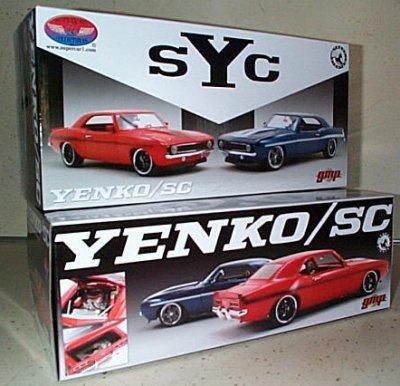Yenko/SC Chevy Camaro In Orange