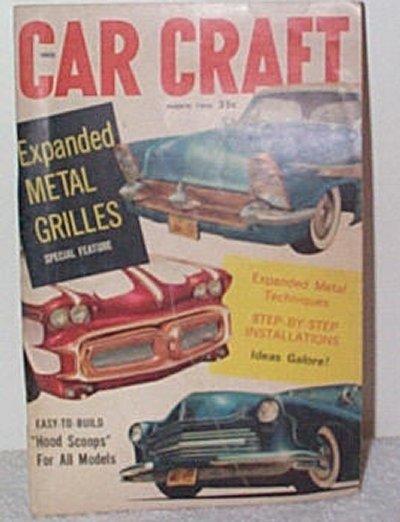 Car Craft March 1958