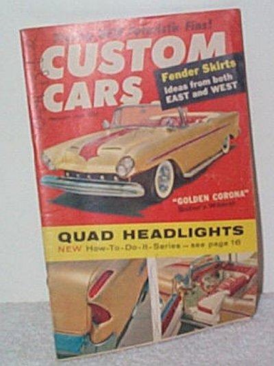 Custom Cars Feb.'59