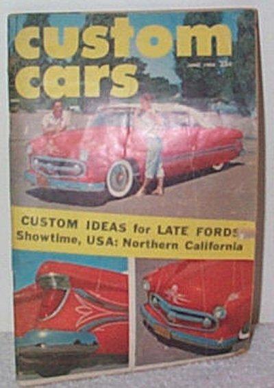 Custom Cars June '58