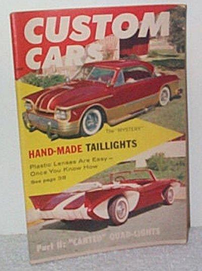 Custom Cars March '59