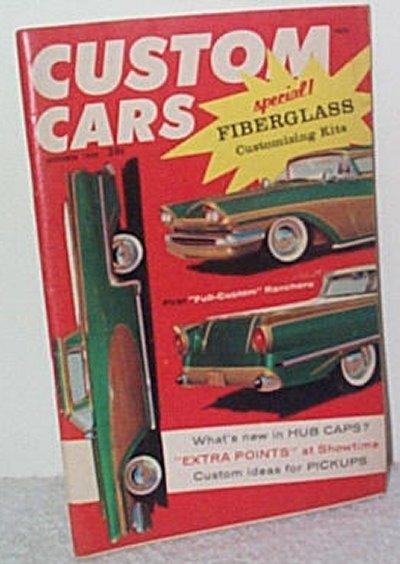 Custom Cars Oct.'58