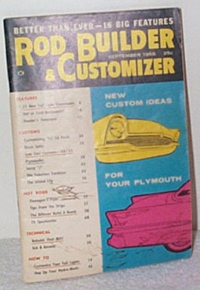 Rod Builder & Customizer Sept.'58