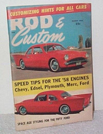 Rod & Custom March '58