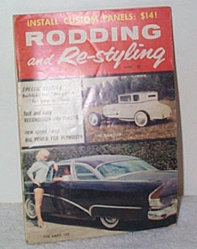 Rodding & Re-styling April '58