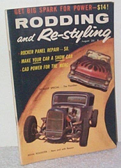 Rodding & Re-styling Aug.'58