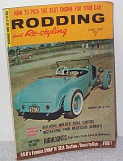 Rodding & Re-styling June '60