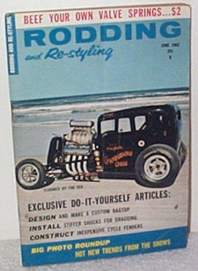 Rodding & Re-styling June '62