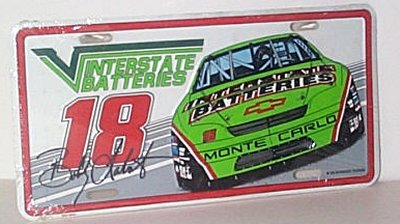 Bobby Labonte Interstate Batteries Plate