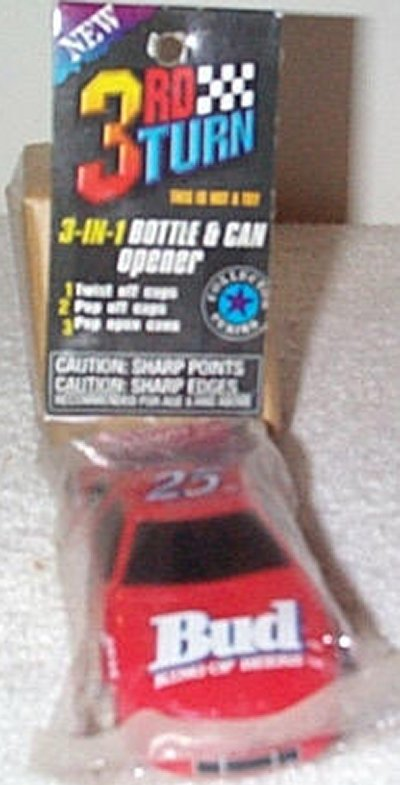 Bud '97 Chevy 3'n 1 Car Shaped Opener