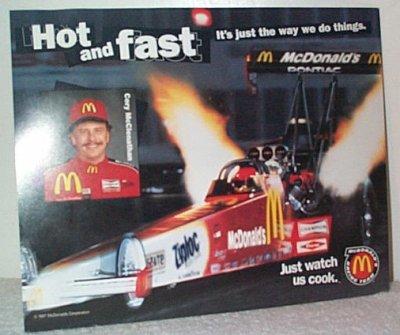 Cory McClenathan McDonald's Handout