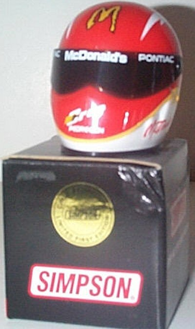 Cruz Perdegon McDonald's Mini Helmet