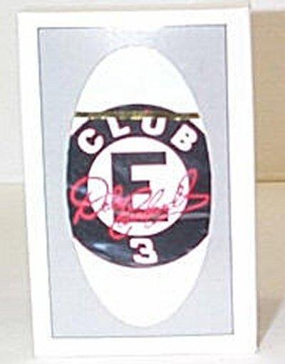 Dale Earnhardt Fan Club Playing Cards
