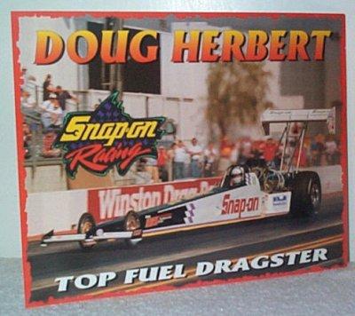 Doug Herbert Snap-On Tools Racing Handout