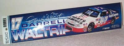 Darrell Waltrip West.Auto/Pts.Amer.Bumper Sticker