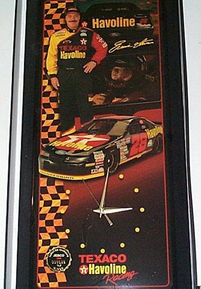 Ernie Irvan Tex/Hav Racing '96 Clock