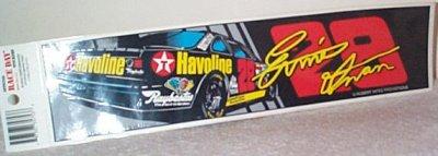 Ernie Irvan Tex.Hav.Thunderbird Bumper Sticker