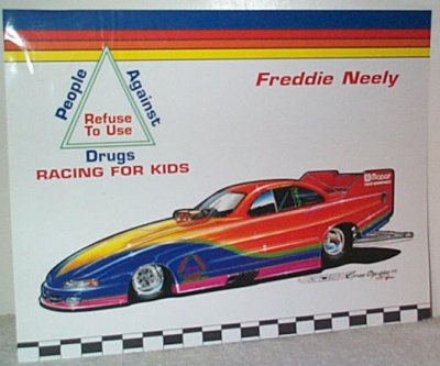 Freddie Neely Funny Car Picture Reprint
