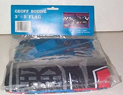 Geoff Bodine QVC 3' x 5' Thunderbird Flag