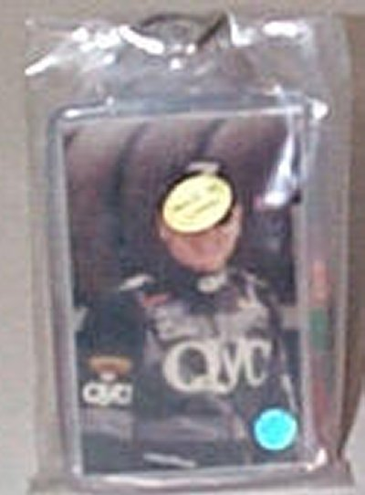 Geoff Bodine QVC 2 Picture Key Ring