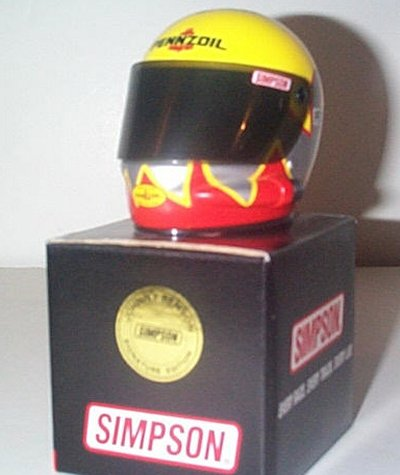 Johnny Benson Jr. Pennzoil Collector's Helmet