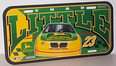John Deere Motorsports Pontiac Vanity Plate