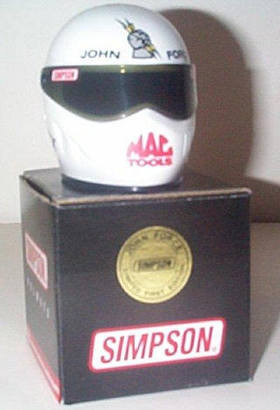 John Force Castrol GTX Collector's Helmet
