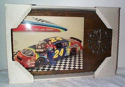 Jeff Gordon Dupont '95 Nascar Champ Clock
