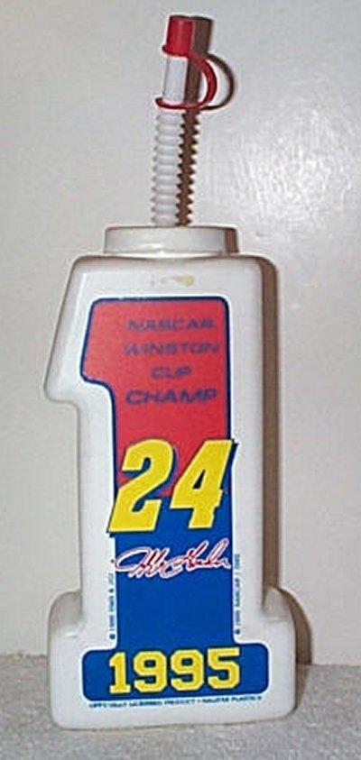 Jeff Gordon '95 Nascar Champ Drink Bottle