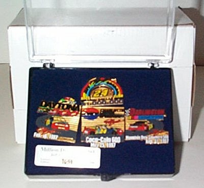 Jeff Gordon Million Dollar 4  Pin Set