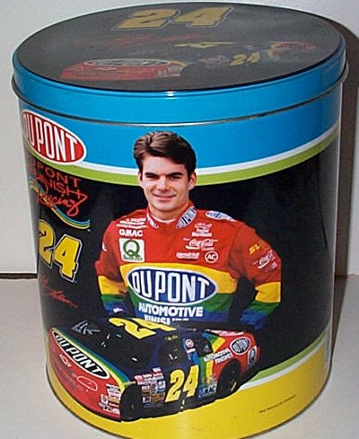 Jeff Gordon Dupont Collector's Tin