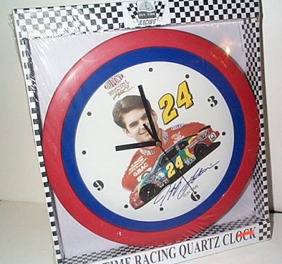 Jeff Gordon Dupont Round Clock