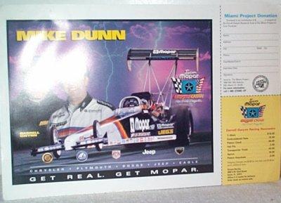 Mike Dunn/Darrell Gwynn Team Mopar Handout