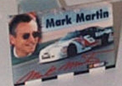 Mark Martin Valvoline Ford T-Bird Magnet