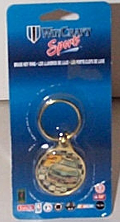 Rusty Wallace MGD Brass Key Ring