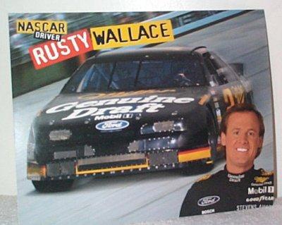 Rusty Wallace MGD Thunderbird Handout