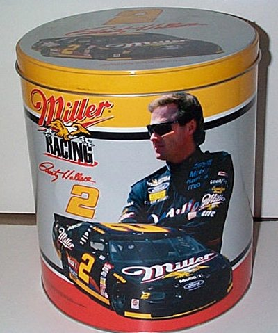 Rusty Wallace Miller Racing Collector's Tin